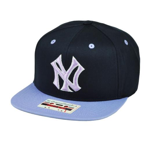 66233de3c05 MLB New York Yankees American Needle Snapback Flat Bill Hat Cap Adjustable  Sport
