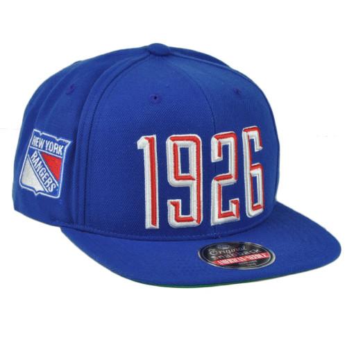 separation shoes f4efc 1b5f7 NHL American Needle New York Rangers Flat Bill Snapback Blue Hat Cap1926  Spotr