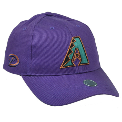 MLB Arizona Diamondbacks Youth Kids Purple  Hat Cap Sport Adjustable