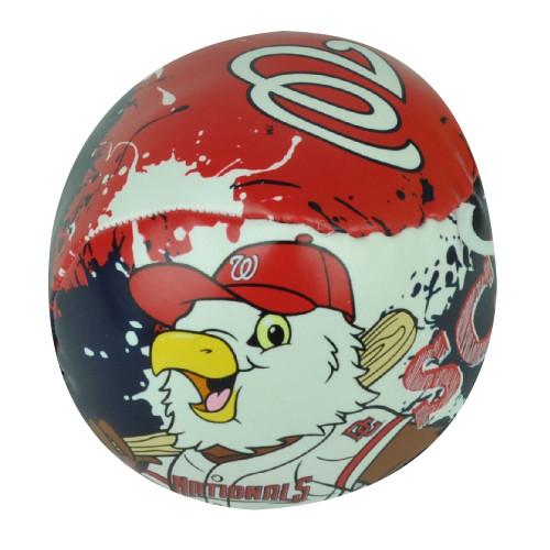 MLB Washington Nationals Baseball Soft Indoor Safe Blue Red Kids Eagle Ball