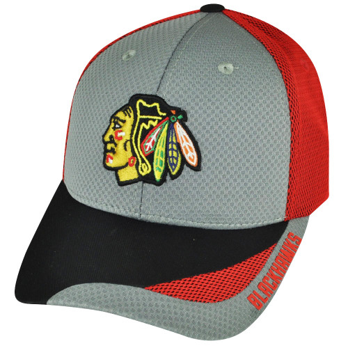 NHL American Needle Chicago Blackhawks Technician Snapback Hat Cap Adjustable