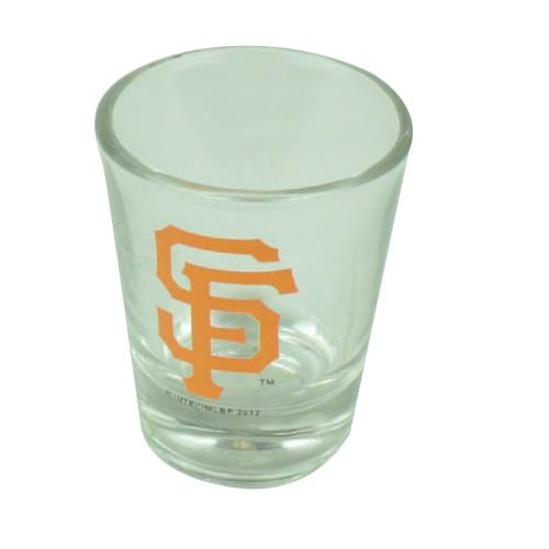 MLB San Francisco Giants Reds 2oz Printed Logo Shot Glass Alcohol Drinkware Fan