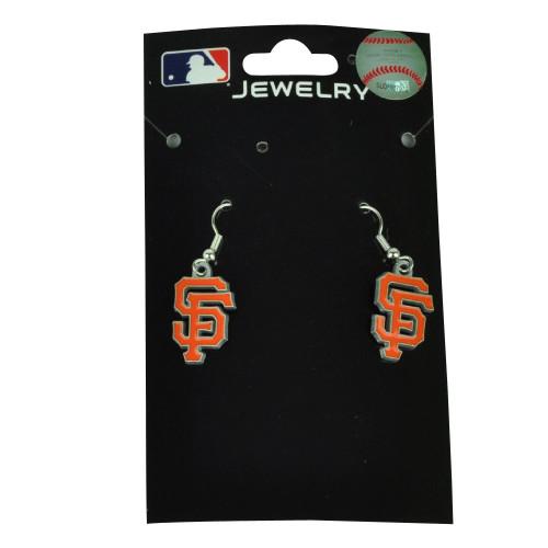 MLB San Francisco Giants Team Logo Earrings Jewelry Game Fan Womens Ladies
