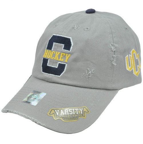 NCAA Central Oklahoma Bronchos Top of World Varsity Distressed Slouched Hat Cap
