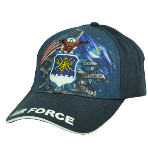 U.S Air Force United States Sublimated Hat Cap Military Adjustable Defending