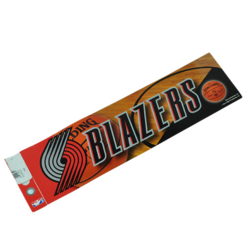 NBA Portland Trail Blazers 2 Stickers Set Decoration Sport Fan 10x11.5 Wall 3X4