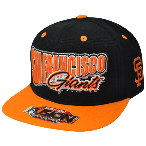 MLB American Needle San Francisco Giants Fusion Angler Snapback Flat Bill Hat