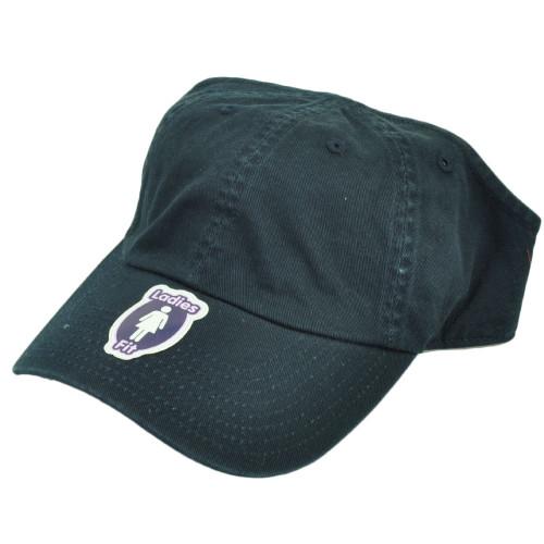 American Needle Navy Blue Open Back Hat Cap Ladies Women Blank Plain Adjustable