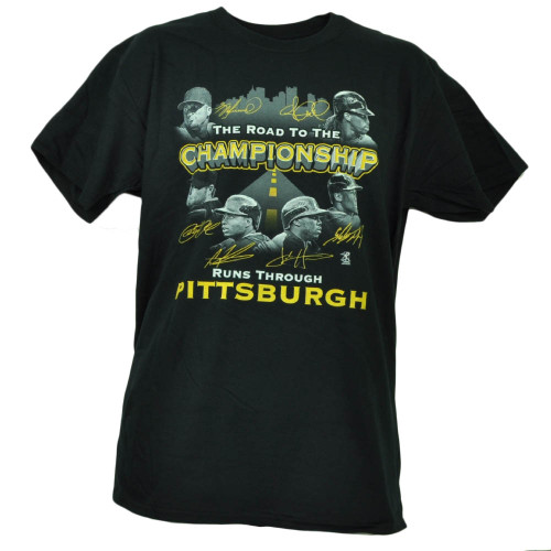 Pittsburgh Pirates Road to Championship Tshirt Tee McCutchen Cole Mens Baseball