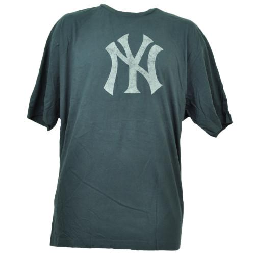 Wright Ditson New York Yankees Distressed Logo 3XLarge Tshirt Tee Navy Blue Mens