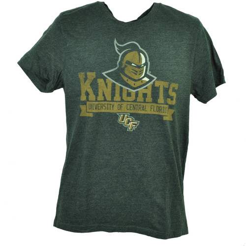 Central Florida Knights Tshirt Tee Charcoal Short Sleeve Mens Crew Neck UCF