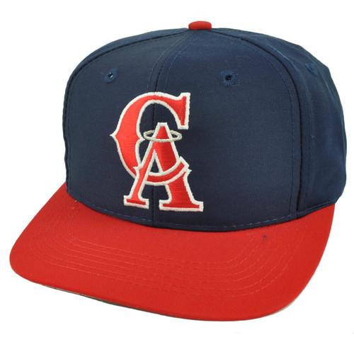 Los Angeles Angels Old School Logo Snapback Flat Bill Baseball Hat Cap Youth