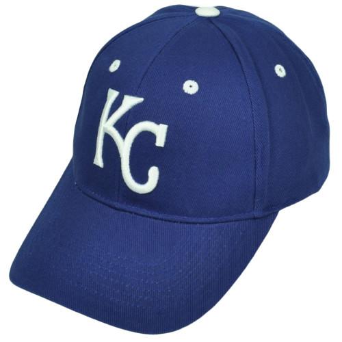 2eb80d3be72b9 Kansas City Royals Blue Hat Cap Fan Favorite Adjustable Curved Bill Baseball