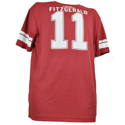 info for a260e 33de1 NFL Arizona Cardinals Larry Fitzgerald Jersey Shirt Short Sleeve Mens Game