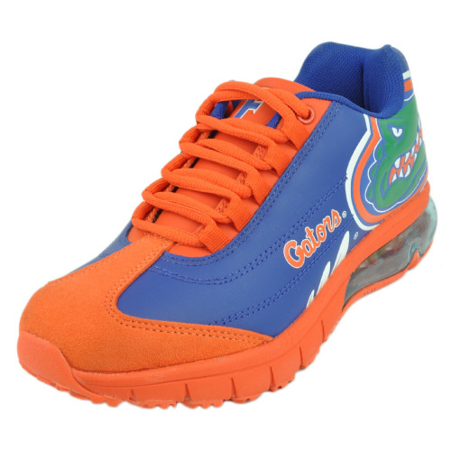 Mens Florida Gators Fergo Urban Sneaker Training Shoe Leather Suede Gator Blue