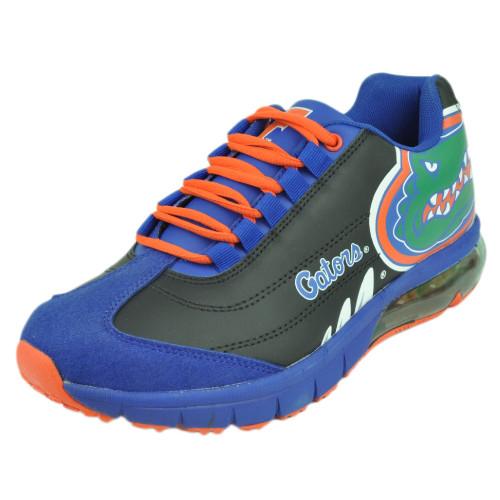Mens Florida Gators Fergo Urban Sneaker Training Shoe Leather Suede Gator Black