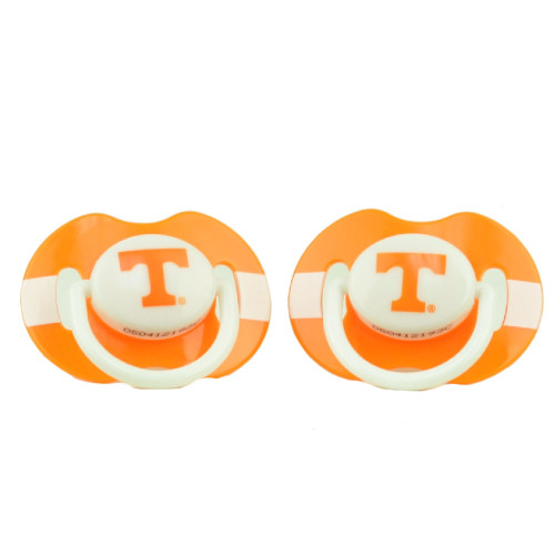 Tennessee Volunteers Vols Orthodontic Pacifiers Infant Baby Fanatic 2 Piece