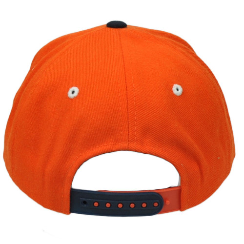 newest 06866 6a026 ... NCAA Virginia Cavaliers Zephyr Rally 32 5 Flat Bill Snapback Orange Hat  Cap