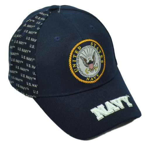 U.S Navy Military USN United States Forces Hat Cap Adjustable Curved Bill