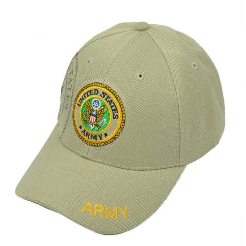 66c981b5b8e Officially Licensed Product. U.S United States Army Seal Military Armed  Forces Adjustable Hat Cap Services