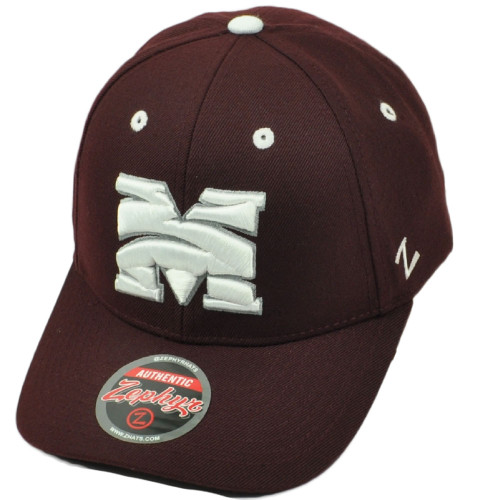 cheap for discount 758ea 61ff9 NCAA AACA Zephyr Morehouse Maroon Tigers Adjustable Curved Bill Hat Cap  Sport