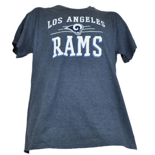 NFL Los Angeles Rams Inner Drive Tshirt Tee Navy Blue Mens Tshirt Tee Adult