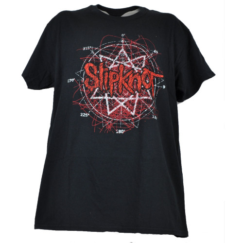 Slipknot Heavy Metal Band Mens Black Tshirt Tee Short Sleeve Music Crew Neck
