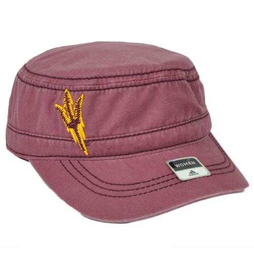 NCAA Adidas Arizona State Sun Devils VH18Z Military Fatigue Womens Snapback Hat