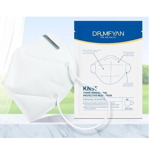 DR MFYAN KN95 Three Dimensional Protective Respirator Disposable Face Mask 6 Pcs