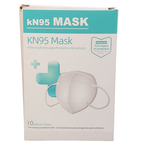 KN95 Mask Particulate Protection Respirator Disposable Face Mask Pack of 10 Pcs