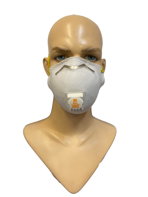 3M Particulate Respirator N95 8511 Mask White 10 Pieces per box