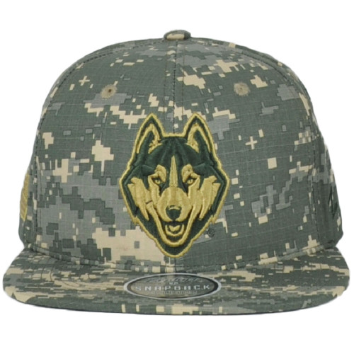NCAA Zephyr Connecticut Huskies UCONN Digital Camo Snapback Flat Bill Hat Cap