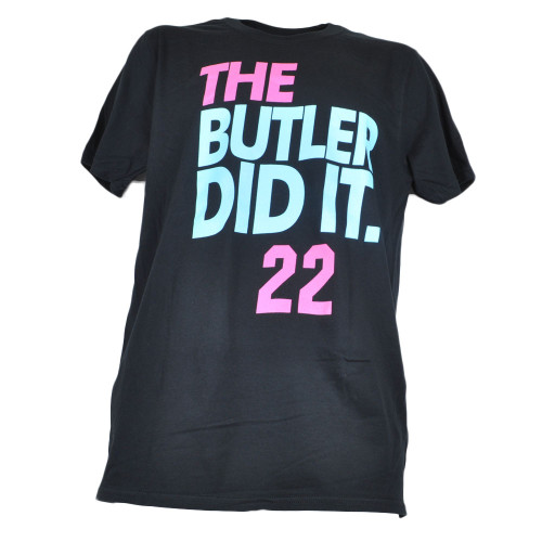 The Butler Did It Jimmy Buckets Miami Beach Mens Adults Tshirt Tee Basketball