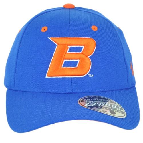 NCAA Zephyr Boise State Broncos Blue Flex Fit Stretch Small Medium S/M Hat Cap