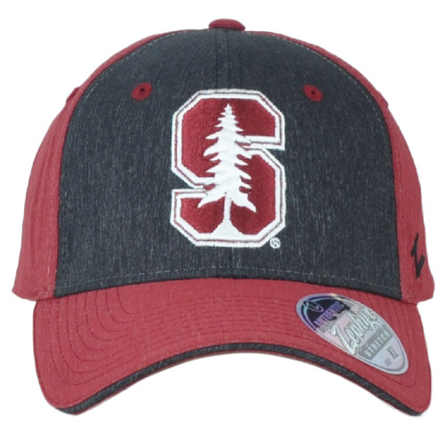 NCAA Zephyr Stanford Cardinals Two Tone Fitted Stretch X-Large Men Adult Hat Cap
