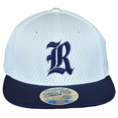 NCAA Zephyr Rice Owls 32/5 Fitted Stretch Small Chopped Jersey Mesh Flat Hat Cap