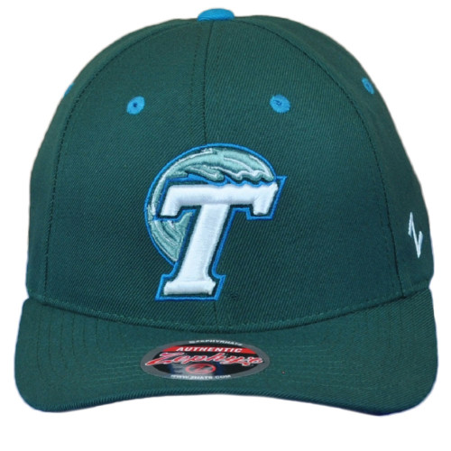 NCAA Zephyr Tulane Green Wave Adult Curved Bill Snapback Men Adjustable Hat Cap