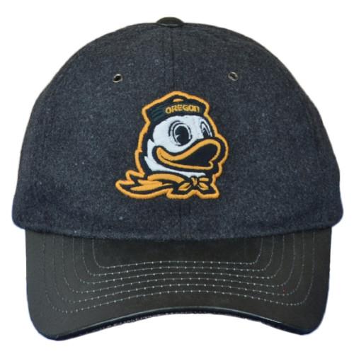 NCAA Zephyr Oregon Ducks Heritage Collection Adjustabl Curved Bill Adult Hat Cap