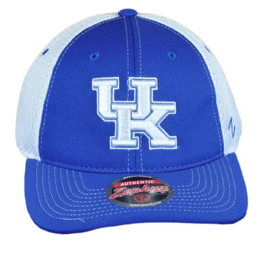 NCAA Zephyr Kentucky Wildcats Jersey Mesh Adults Adjustable Curved Bill Hat Cap