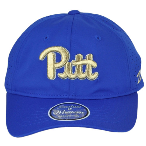 NCAA Pittsburgh Panthers Relaxed Adjustable Curved Bill Womens Ladies Hat Cap