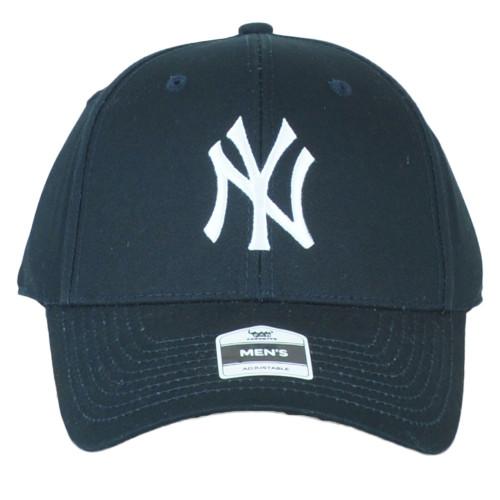 MLB Fan Favorite New York Yankees Men Structured Curved Bill Adjustable Hat Cap