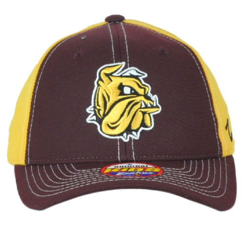NCAA Zephyr Minnesota-Duluth Bulldogs Kids Youth Snapback Curved Bill Hat Cap
