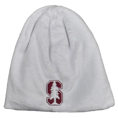 NCAA Zephyr Standford Cardinals Cuffless Knit Beanie White Hat Winter Skully