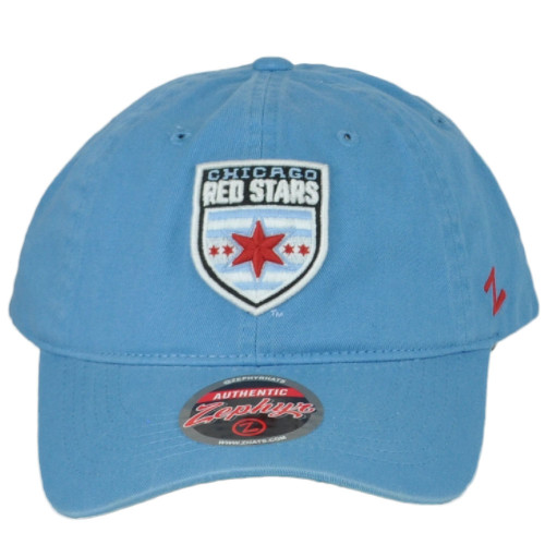 Zephyr Chicago Red Stars Womens Professional Soccer Club Curved Bill Hat Cap