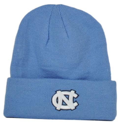 NCAA Zephyr North Carolina Tar Heels Cuffed Knit Beanie Hat Winter Toque Skully