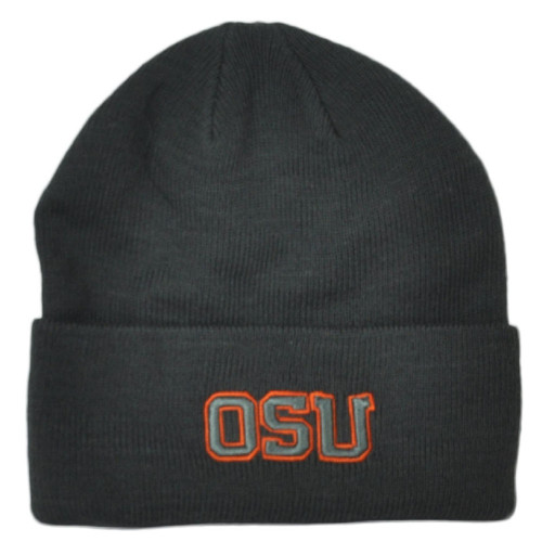 NCAA Zephyr Oklahoma State Cowboys Cuffed Knit Beanie Hat Winter Toque Skully