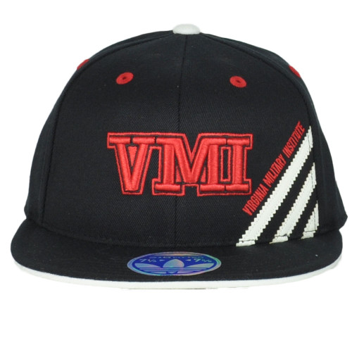 NCAA Virginia Military Institute VMI TS26Z Fitted 7 1/4 to 7 5/8 Flat Bill Hat