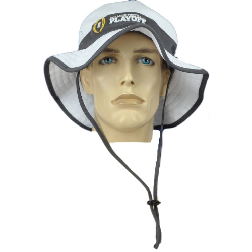 NCAA Zephyr College Football Playoff White Outdoor Small Medium Sun Bucket Hat