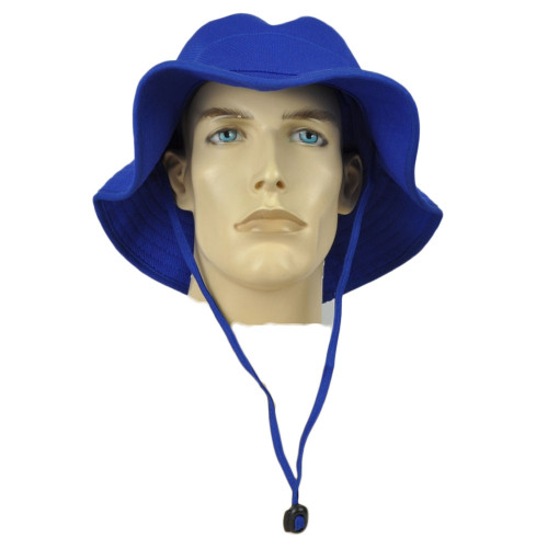 Zephyr Royal Blue Sun Bucket Fisherman Hat Blank Small Medium Outdoors Hunting