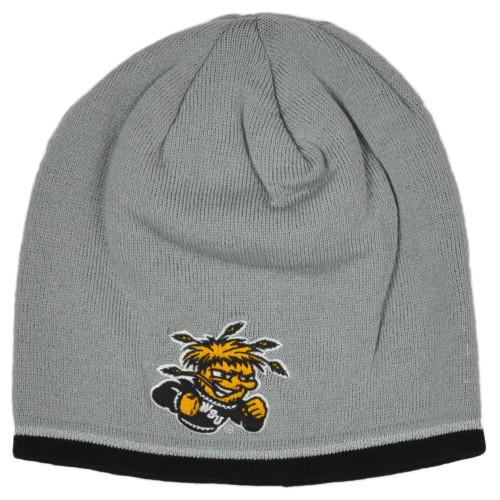 NCAA Adidas Wichita State Shockers KY28Z Cuffless Knit Winter Skully Beanie Hat